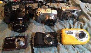 Digital cameras , Cannon, Dikon, and Olympus brands for Sale in Anchorage, AK
