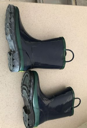Kids Size 13/1 rain boots for Sale in Lithia, FL