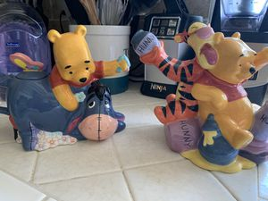 Winnie the Pooh teapots for Sale in Fresno, CA