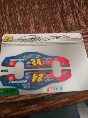 Jeff gordan autographed grid for Sale in Wichita, KS