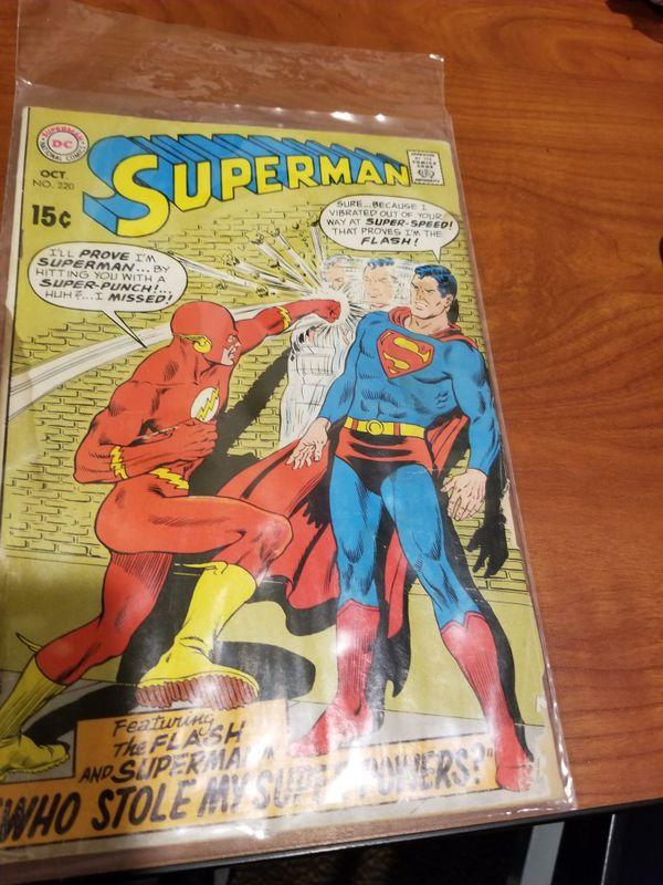 Superman and Flash change bodies