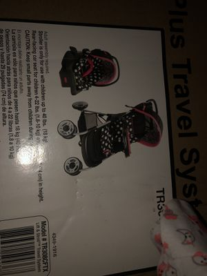 Minnie Mouse car seat and stroller for Sale in Las Vegas, NV