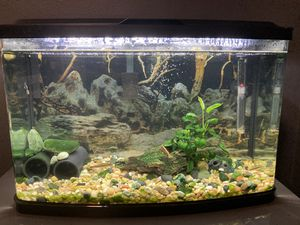 Fluval vista aquarium 16 gallons fish tank for Sale in Renton, WA
