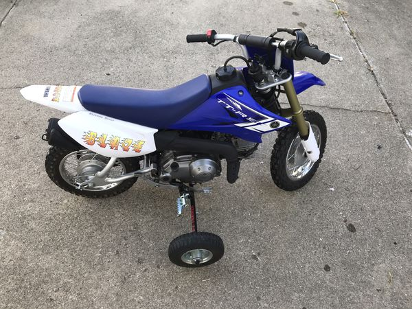 2013 Yamaha TT-R 50 TTR 50 Motorcycle LIKE NEW