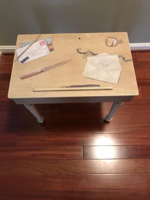 Vintage Small table with storage for Sale in Silver Spring, MD
