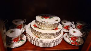 """Royal Albert """"Poinsetta"""" service for 8 for Sale in Kingsley, PA"""