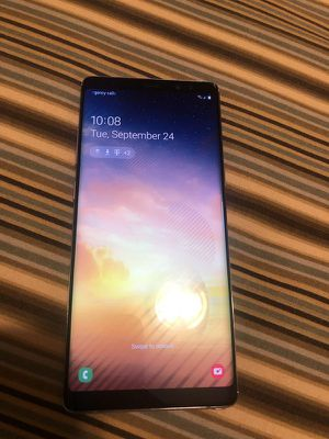 Galaxy NOTE 8 Unlocked with a 30 Day WARRANTY! Check-out profile for prices of other phones like Galaxy S7 Edge S8 S8+ Note 5 and iPhones. PLEASE REA for Sale in Carson, CA