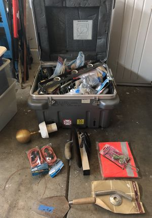 Box with tools for Sale in Santa Maria, CA