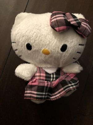 2013 TY Hello Kitty Pink and Black Plaid Dress—Brand new for Sale in Corona, CA
