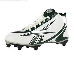 Rebok Cleats, white/green, Mens size 13.5 US for Sale in Bountiful, UT