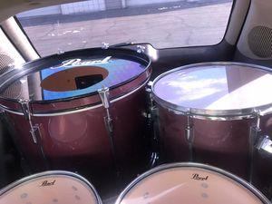 Pearl Export Pro Series 4 piece Drum set for Sale in Hesperia, CA
