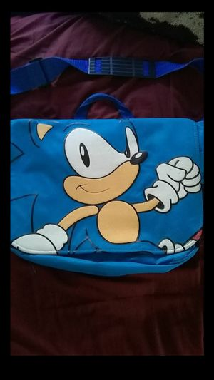 Sonic the hedgehog laptop Bag for Sale in Chula Vista, CA