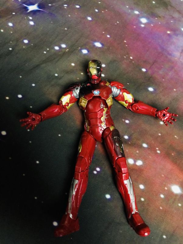 Captain America Iron Man And Batman Action Figures