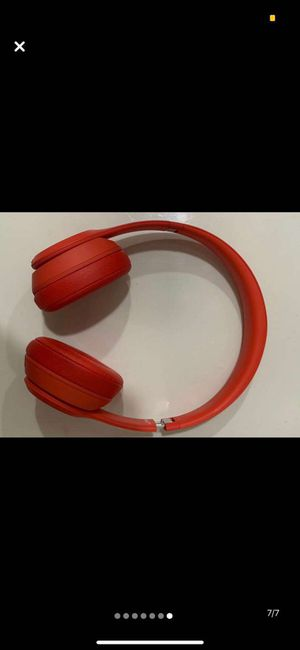 Beats Solo 3 wireless Special Edition (Project Red) for Sale in Meriden, CT
