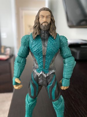 "Justice League Movie Basic Aquaman 6"" Action Figure (Mattel, 2017) DC Comics for Sale in Fayetteville, NC"