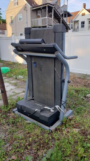 Free treadmill, not working. Also free basketball hoop and board if anyone wants it. for Sale in Danbury, CT