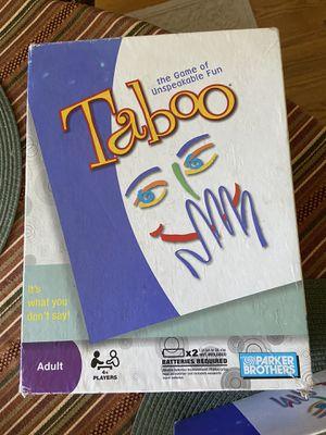 Taboo Board Game for Sale in Matawan, NJ