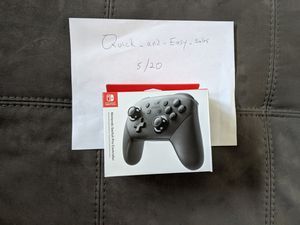 Nintendo Switch pro controller for Sale in Tampa, FL