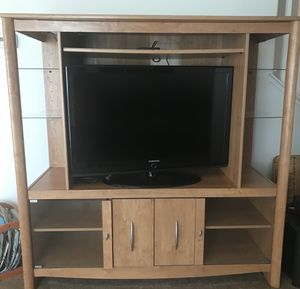 Two TV Stand Entertainment Centers for Sale in Las Vegas, NV