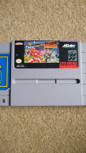Super Smash TV Super Nintendo (SNES) Authentic for Sale in Lynnwood, WA