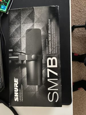 SHURE SM7B - Cardioid Dynamic Microphone for Sale in Queen Creek, AZ