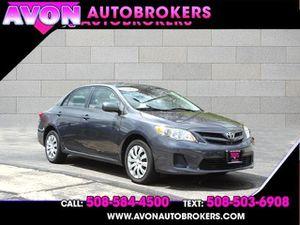 2012 Toyota Corolla for Sale in Avon, MA