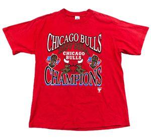 Vintage Chicago Bulls 1997 NBA Finals Champions T Shirt Size XL Logo 7 for Sale in Tempe, AZ