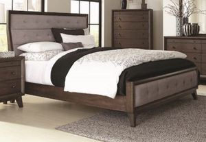 Bed frame, drawer chest, nightstand, drawer &mirror for Sale in Boston, MA