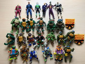 1980-1990's TMNT Action Figure Lot Collection for Sale in Richmond, TX