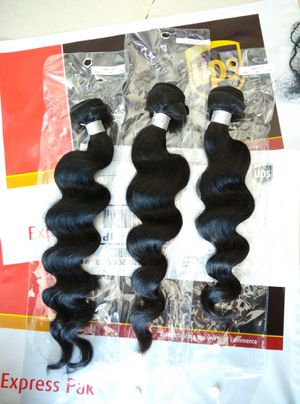 3 bundles with free closure *shipping only* for Sale in Olney, MD