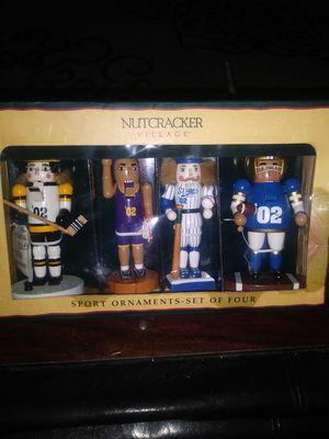 $10-NUTCRACKER SPORT ORNAMENTS for Sale in Columbus, OH