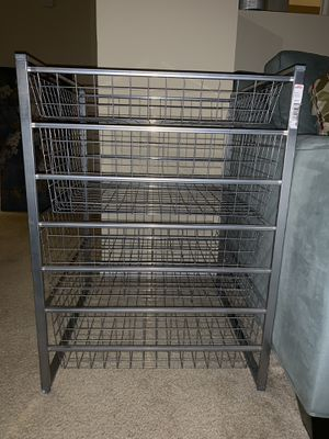 Container store elfa storage drawers for Sale in Nashville, TN