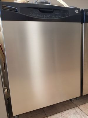 Sleek Stainless steel GE dishwasher Spotless Clean with warranty for Sale in Bountiful, UT