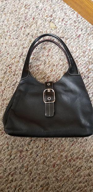 PRADA black leather handbag for Sale in Hutchinson, KS