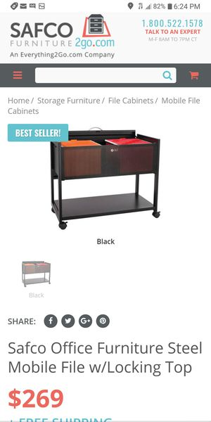 NEW mobile filing cabinet for Sale in Pickerington, OH