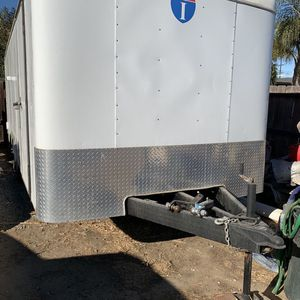 Enclosed Cargo Trailer 8.5 X 20 Interstate Car Carrier Trailer Enclosed for Sale in Antioch, CA