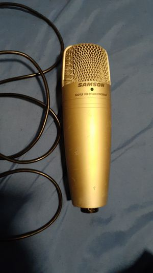 Usb Microphone for Sale in Raleigh, NC