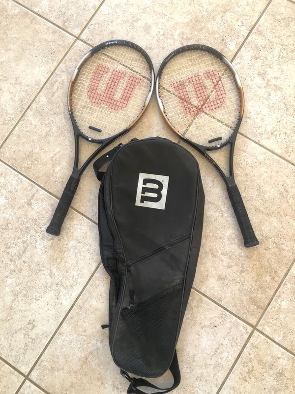 Wilson Comp Graphite Tennis racket