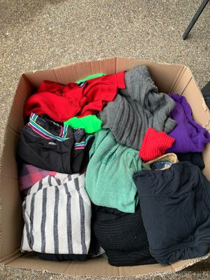 Box of Ladies Medium, Large, XL clothes for Sale in Woodburn, OR