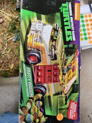 Ninja turtle party wagon for Sale in Frostproof, FL