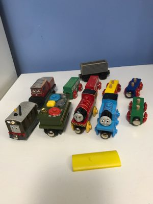 Thomas Wooden magnetic trains for Sale in Herndon, VA