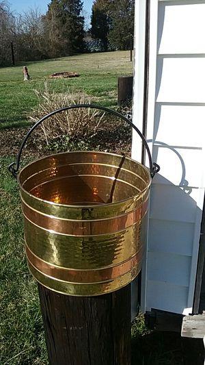 Ash or kindling bucket for Sale in Salisbury, NC