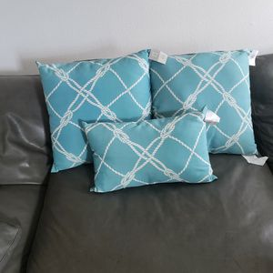Indoor Outdoor Decorative Throw Pillows Nautical for Sale in Clearwater, FL