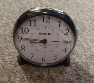 Sharp Quartz Alarm Clock for Sale in Graham, NC