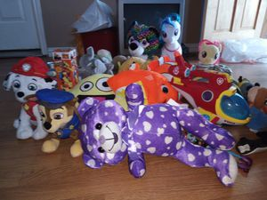 All that you see! Kids toys and plushies for Sale in Frisco, TX