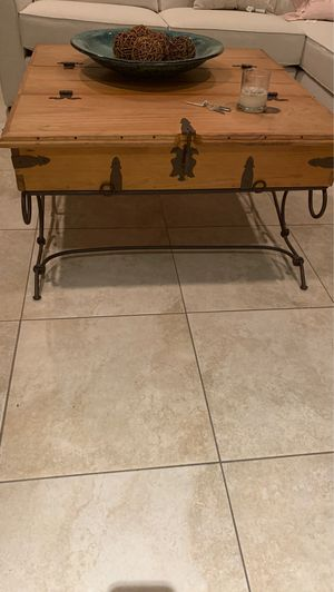 Hard wood Mexican accent tables all have space for storage all tables for 500 for Sale in Miami, FL