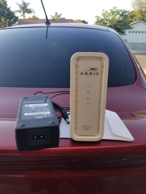 arris modem cable modem for Sale in Bakersfield, CA