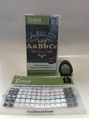 Chalkboard Fonts Cricut Cartridge for Sale in Lutz, FL