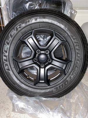 2020 Jeep Wrangler JL Stock Wheels and Tires for Sale in Garrison, MD