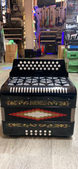 Baronelli accordions! Brand new! With case and straps for Sale in Santa Ana, CA